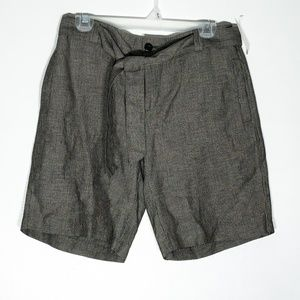 Coldwater Creek Shorts Womens 6 Brown Gray